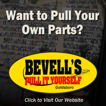 self service you-pull-it used auto parts yard in NC