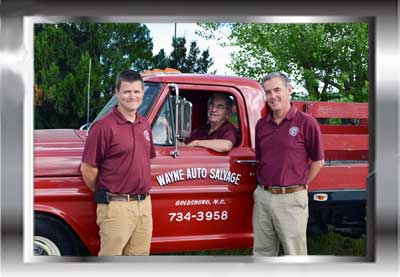 Local Auto Salvage Yard Owners in NC